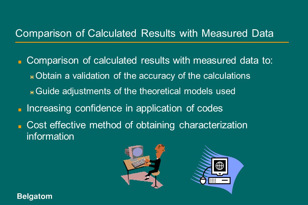 Comparison of Calculated Results with Measured Data