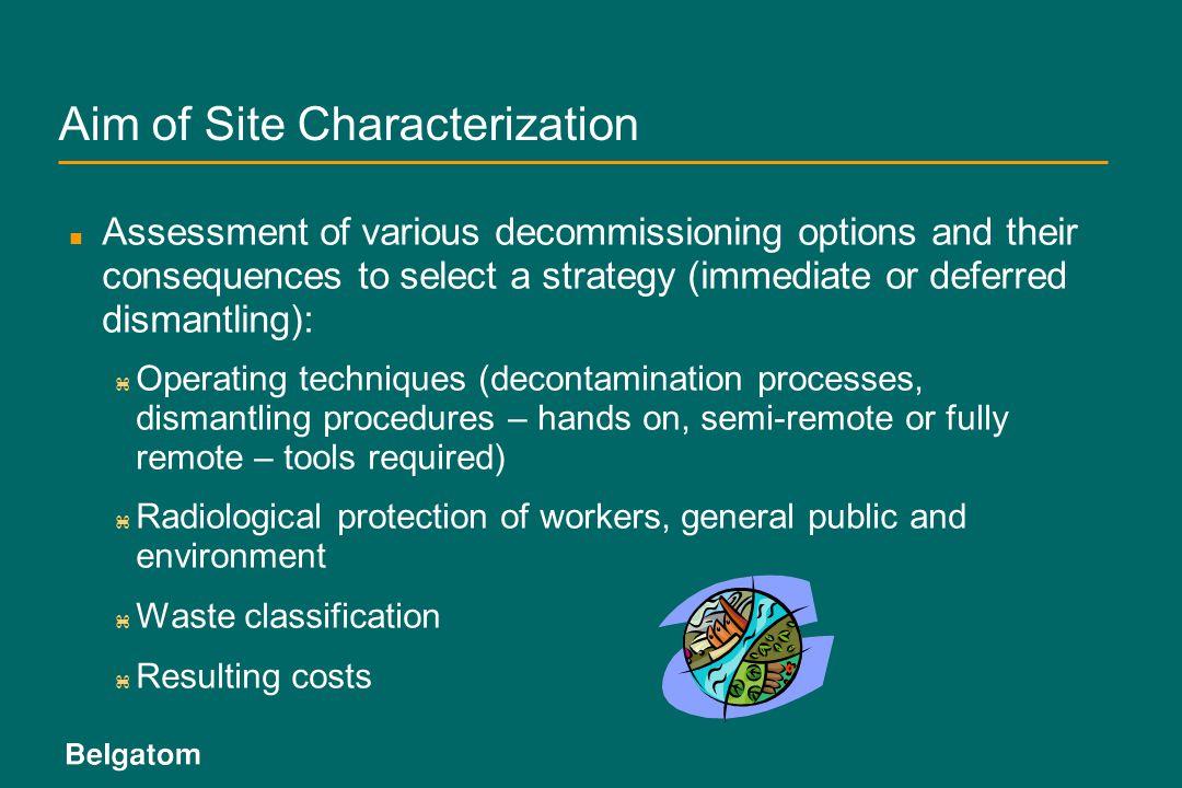 Aim of Site Characterization