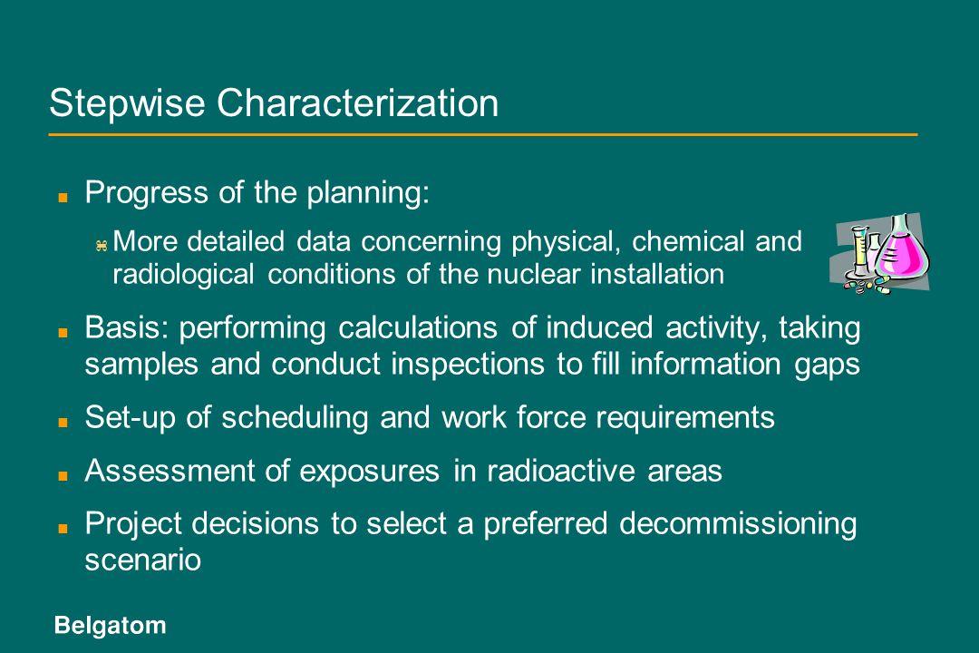 Stepwise Characterization