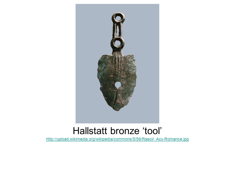 Hallstatt bronze 'tool'