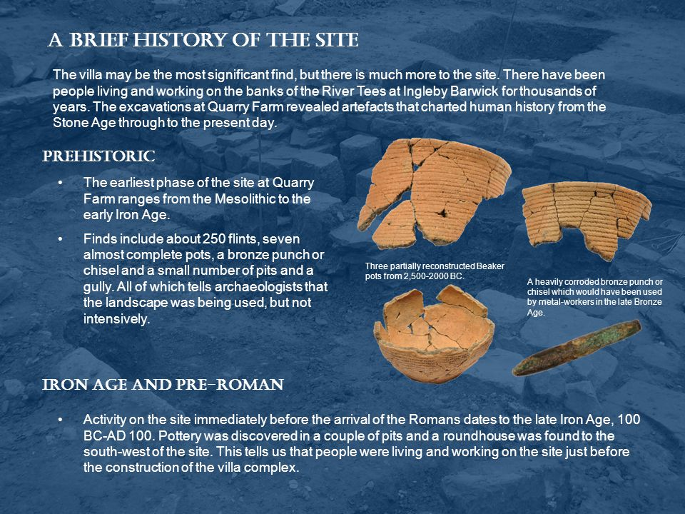 A Brief History of the Site