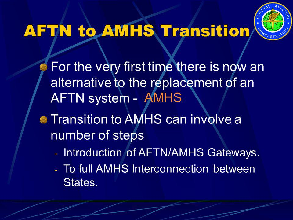 AFTN to AMHS Transition