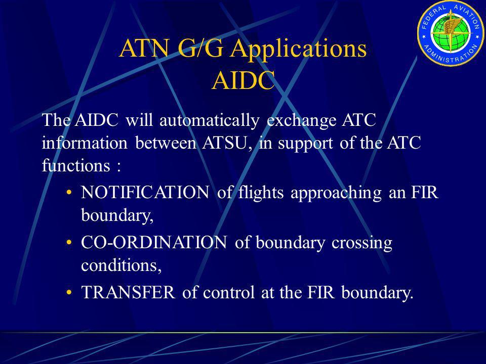 ATN G/G Applications AIDC