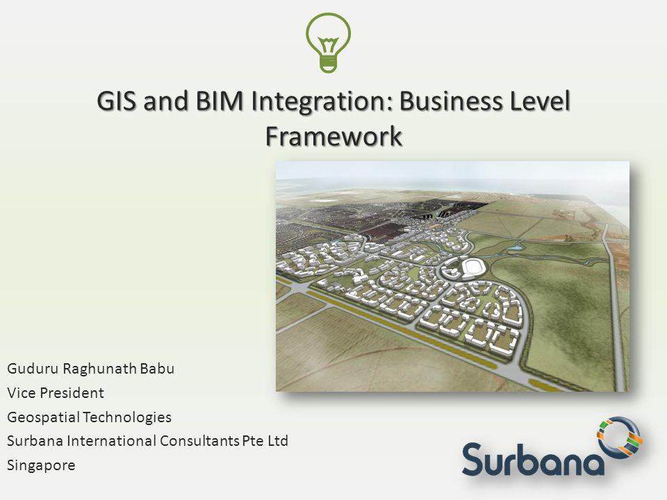 GIS and BIM Integration: Business Level Framework