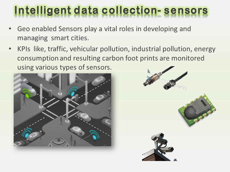 Intelligent data collection- sensors