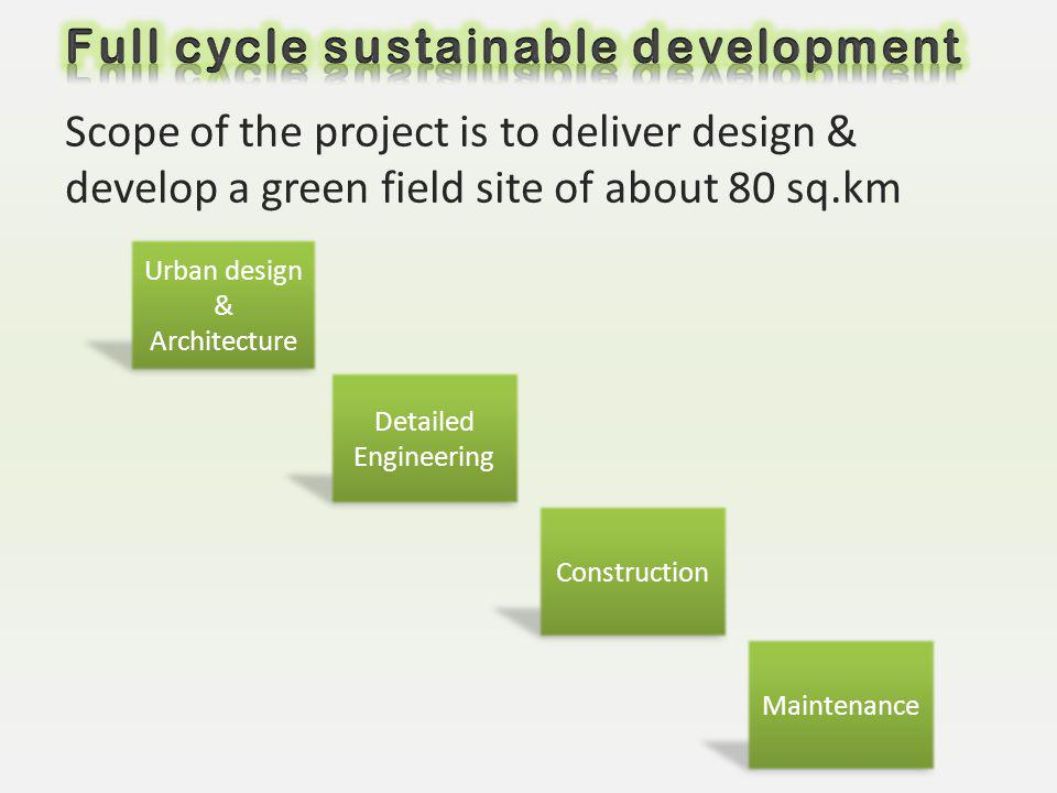 Full cycle sustainable development