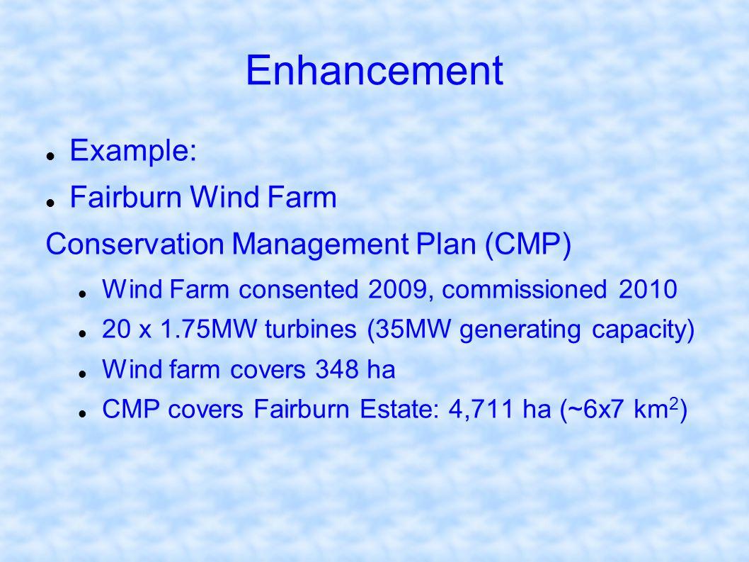 Enhancement Example: Fairburn Wind Farm