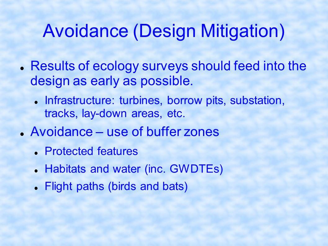 Avoidance (Design Mitigation)