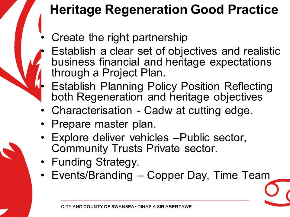 Heritage Regeneration Good Practice