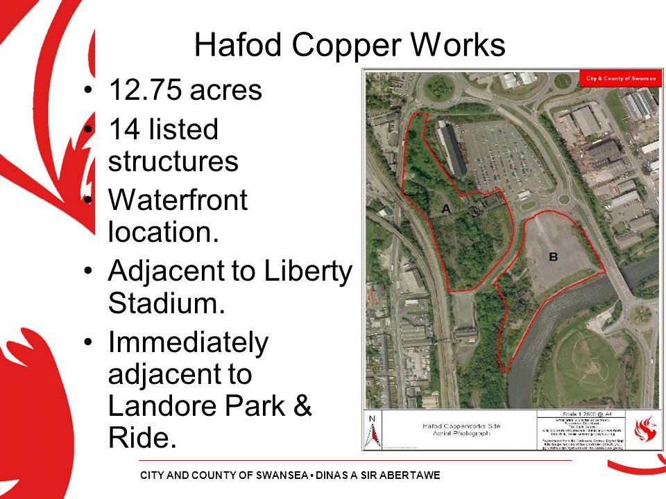 Hafod Copper Works 12.75 acres 14 listed structures