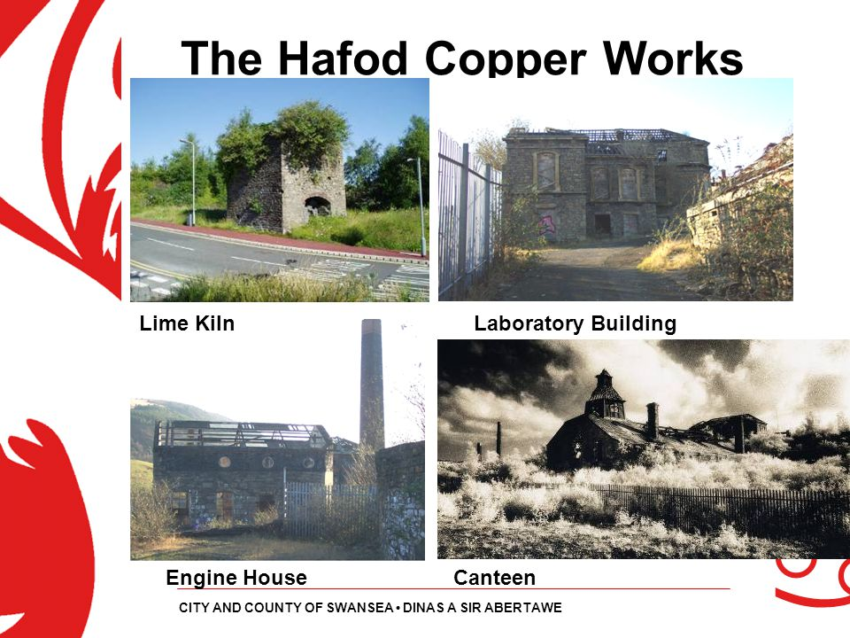 The Hafod Copper Works Lime Kiln Laboratory Building Engine House