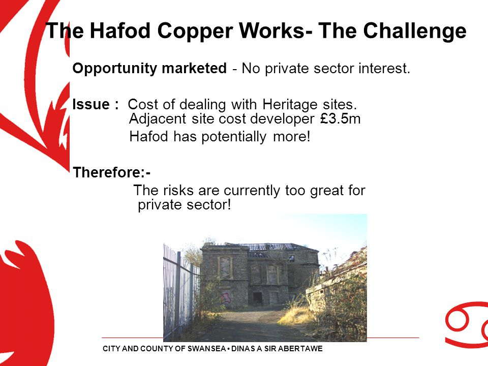 The Hafod Copper Works- The Challenge