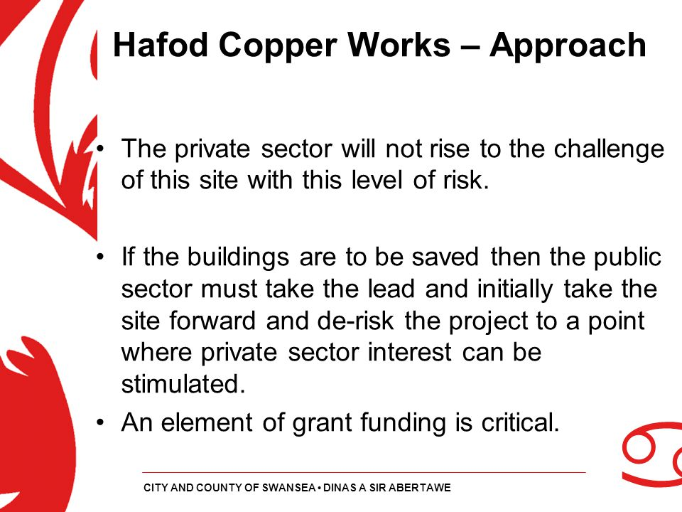 Hafod Copper Works – Approach