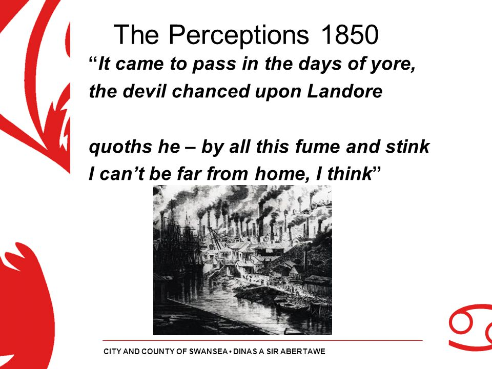 The Perceptions 1850 It came to pass in the days of yore,