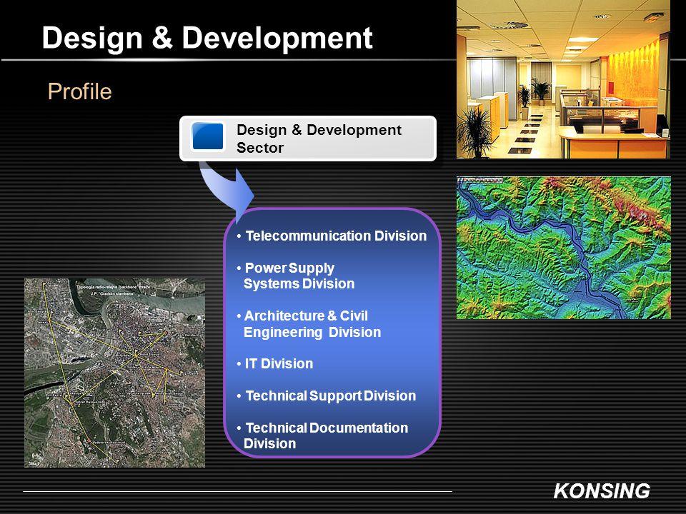 Design & Development Profile Design & Development Sector