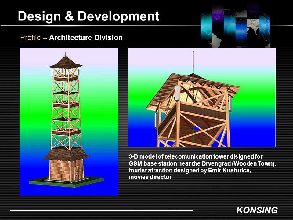 Design & Development Profile – Architecture Division