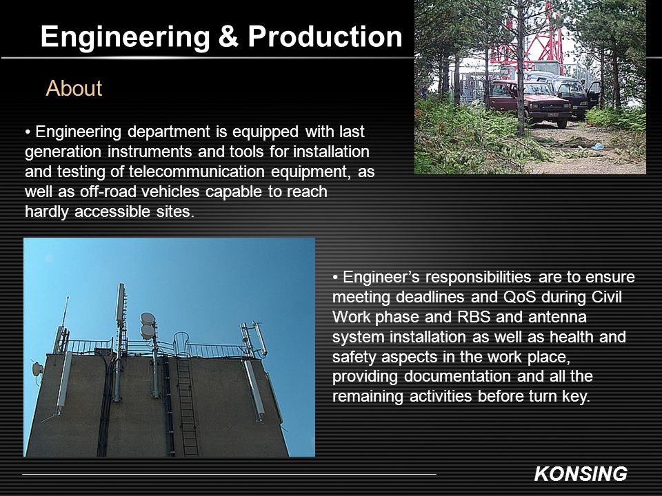 Engineering & Production