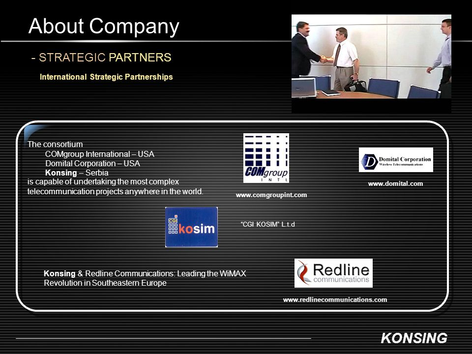 About Company - STRATEGIC PARTNERS
