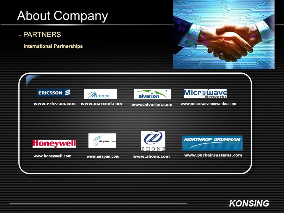 About Company - PARTNERS International Partnerships www.ericsson.com