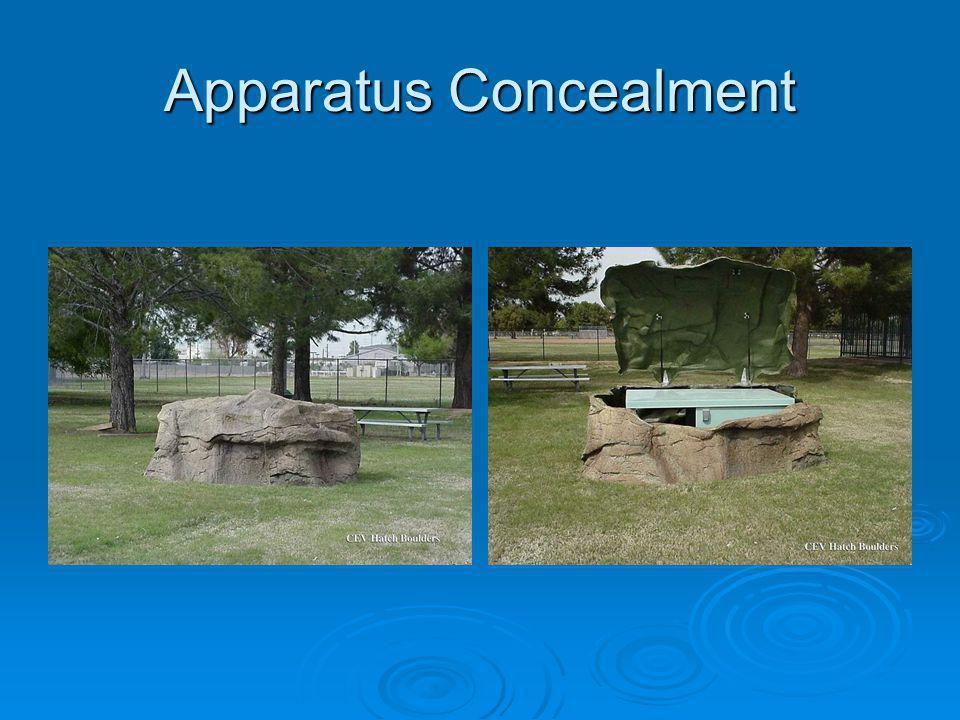 Apparatus Concealment