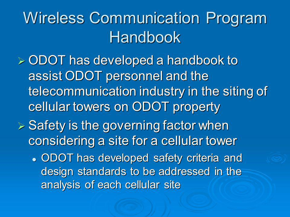 Wireless Communication Program Handbook