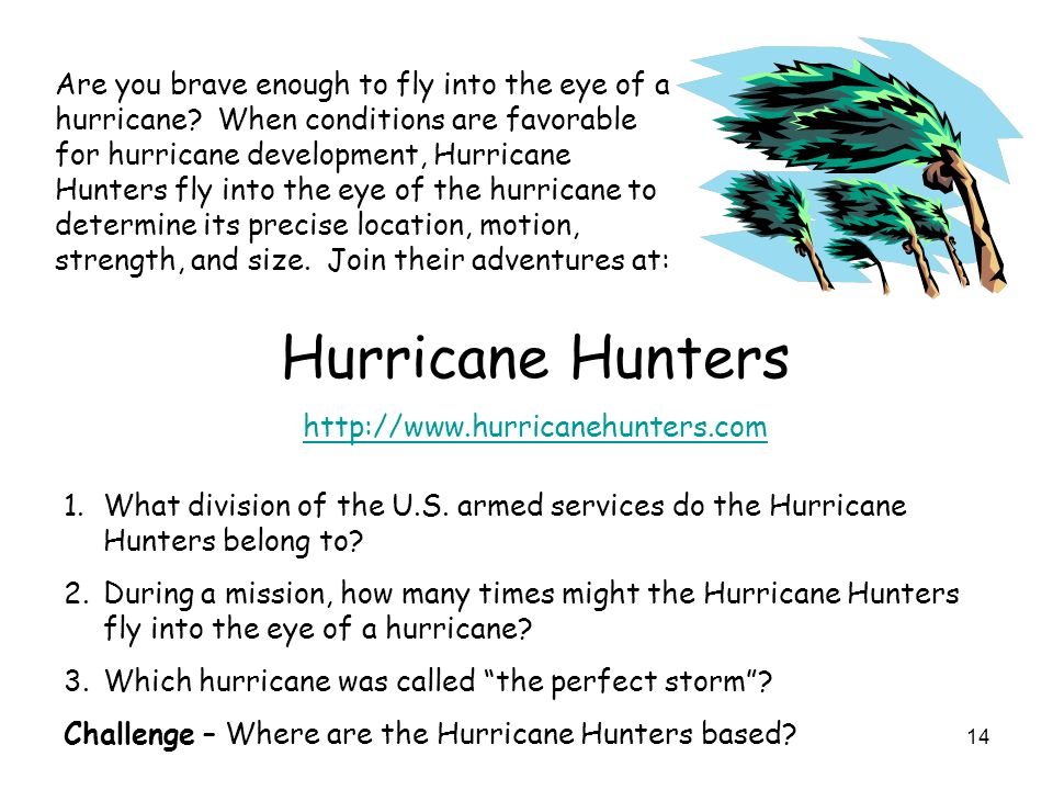 Are you brave enough to fly into the eye of a hurricane