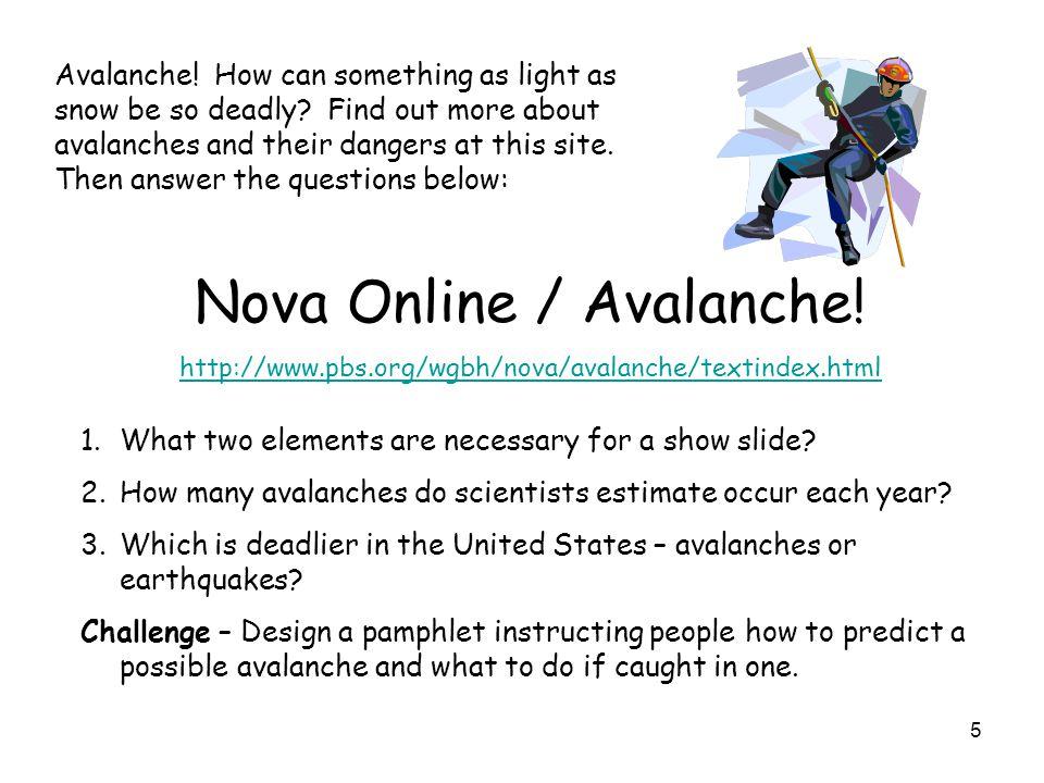Nova Online / Avalanche!
