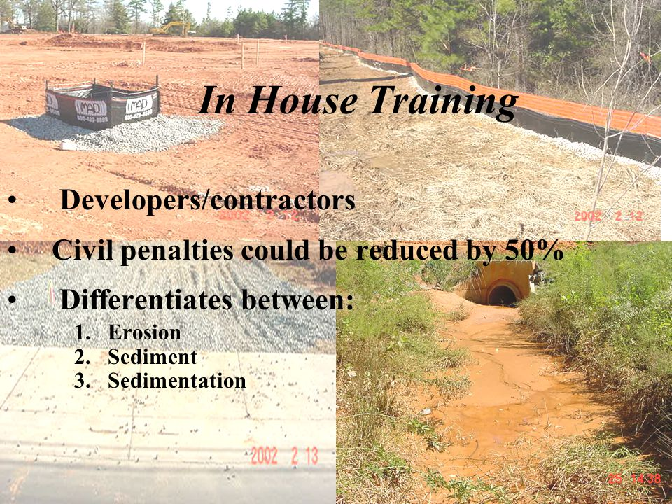 In House Training Developers/contractors