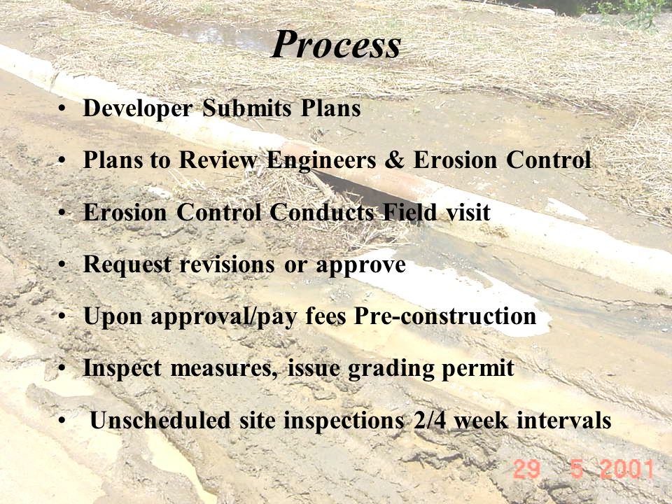 Process Developer Submits Plans