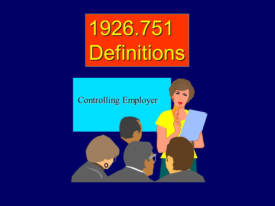1926.751 Definitions Controlling Employer