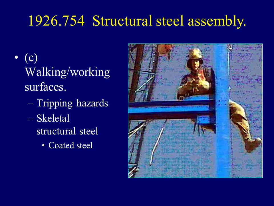 1926.754 Structural steel assembly.