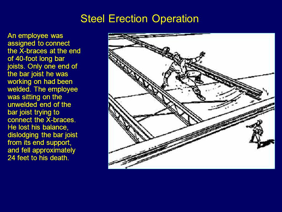 Steel Erection Operation