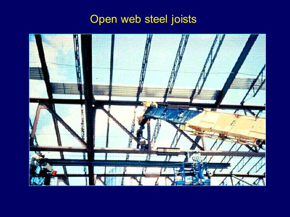 Open web steel joists