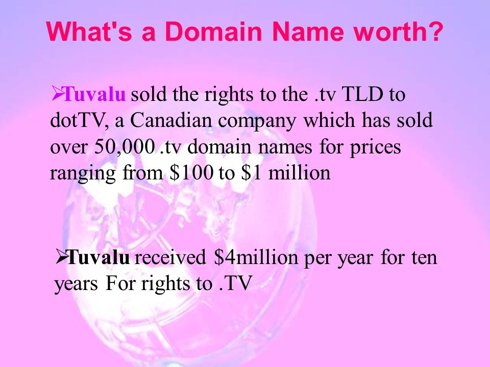 What s a Domain Name worth