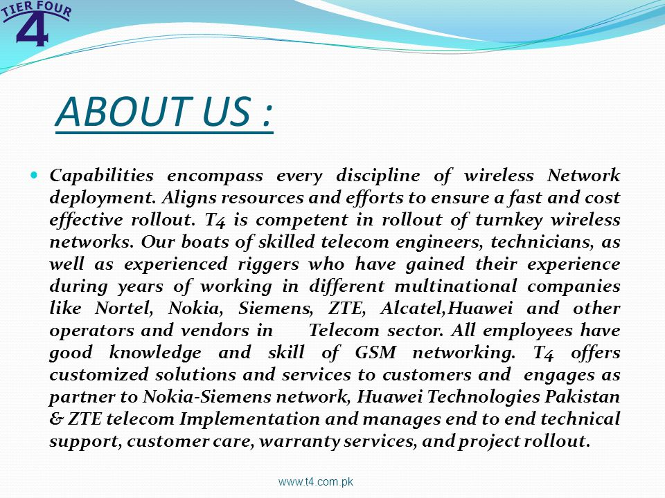ABOUT US :