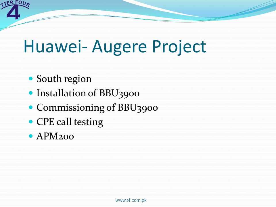 Huawei- Augere Project