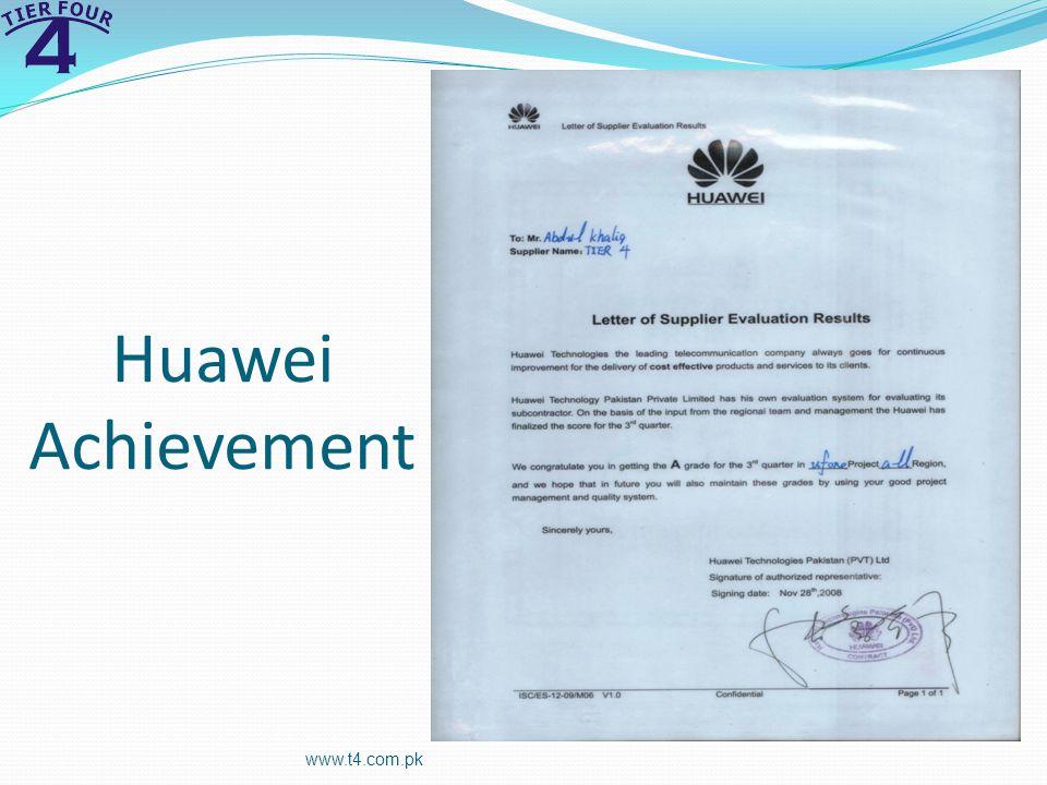 Huawei Achievement www.t4.com.pk