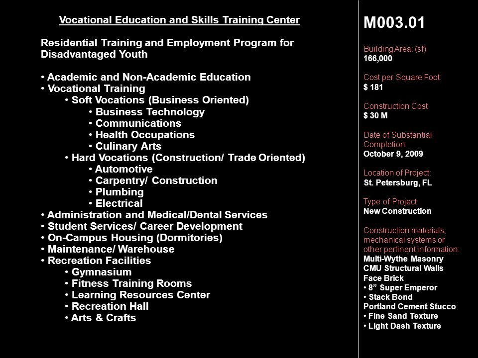 Vocational Education and Skills Training Center