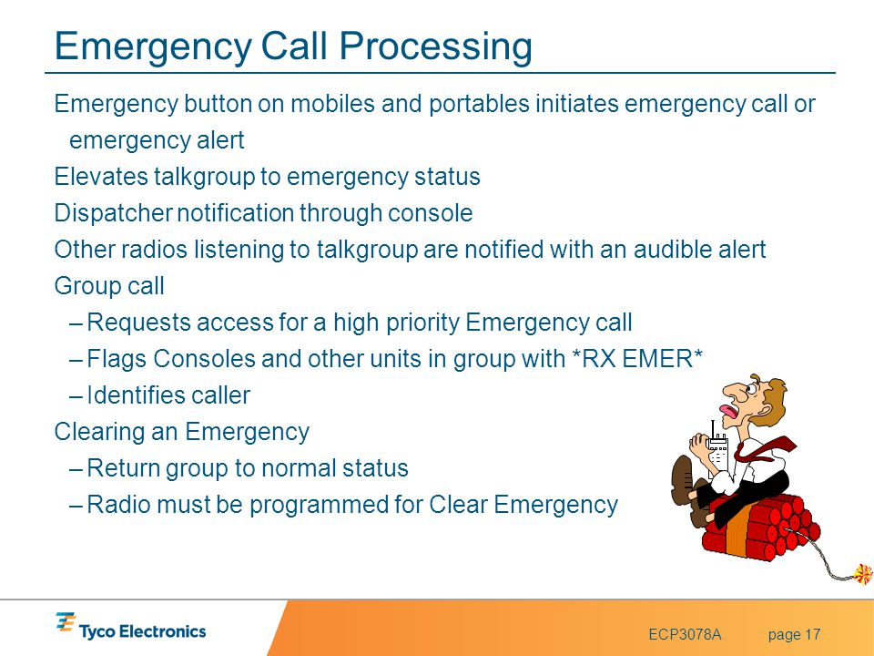 Emergency Call Processing