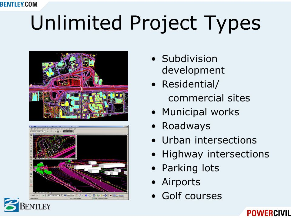 Unlimited Project Types