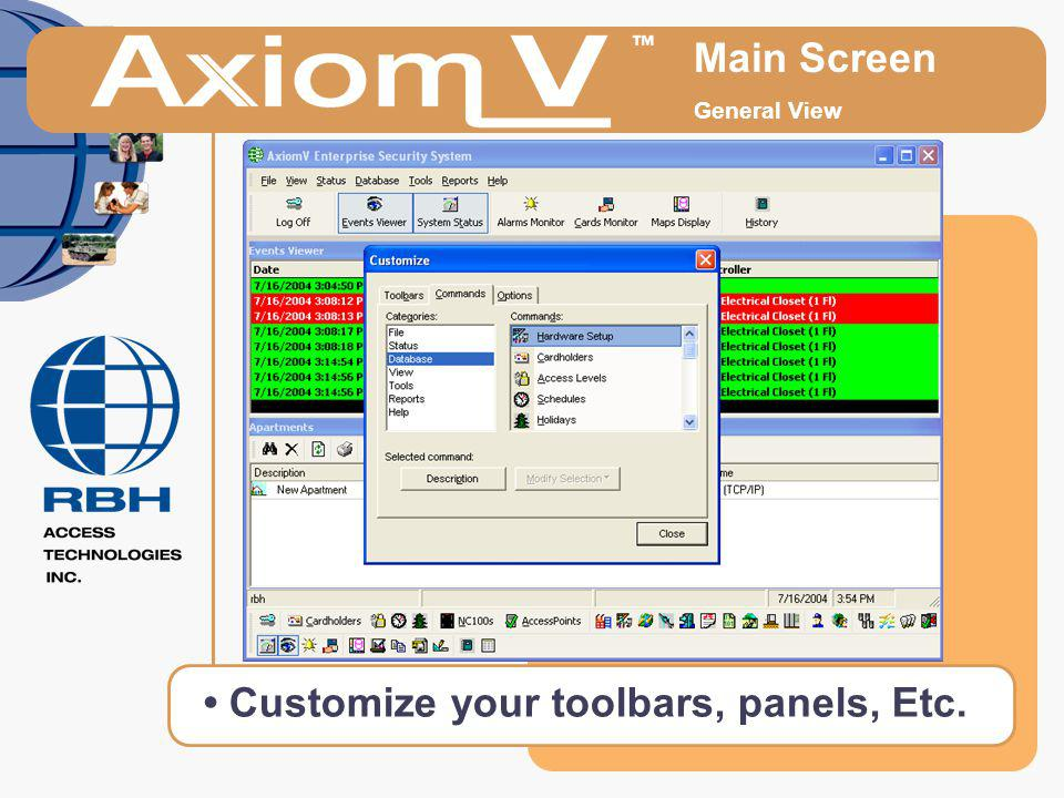 • Customize your toolbars, panels, Etc.