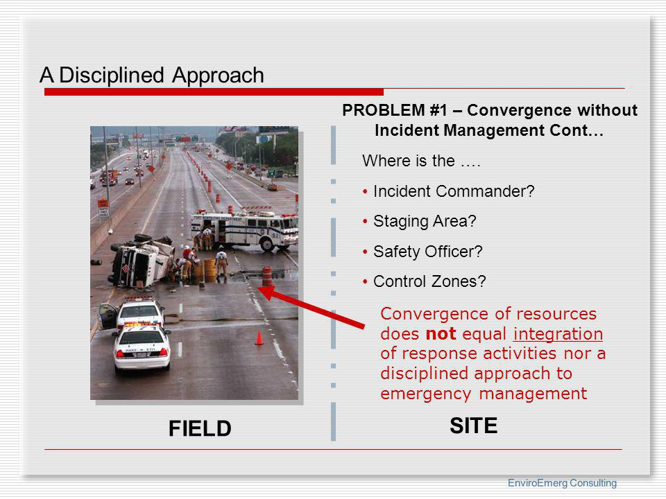 PROBLEM #1 – Convergence without Incident Management Cont…