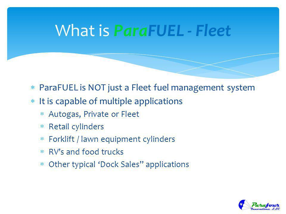 What is ParaFUEL - Fleet