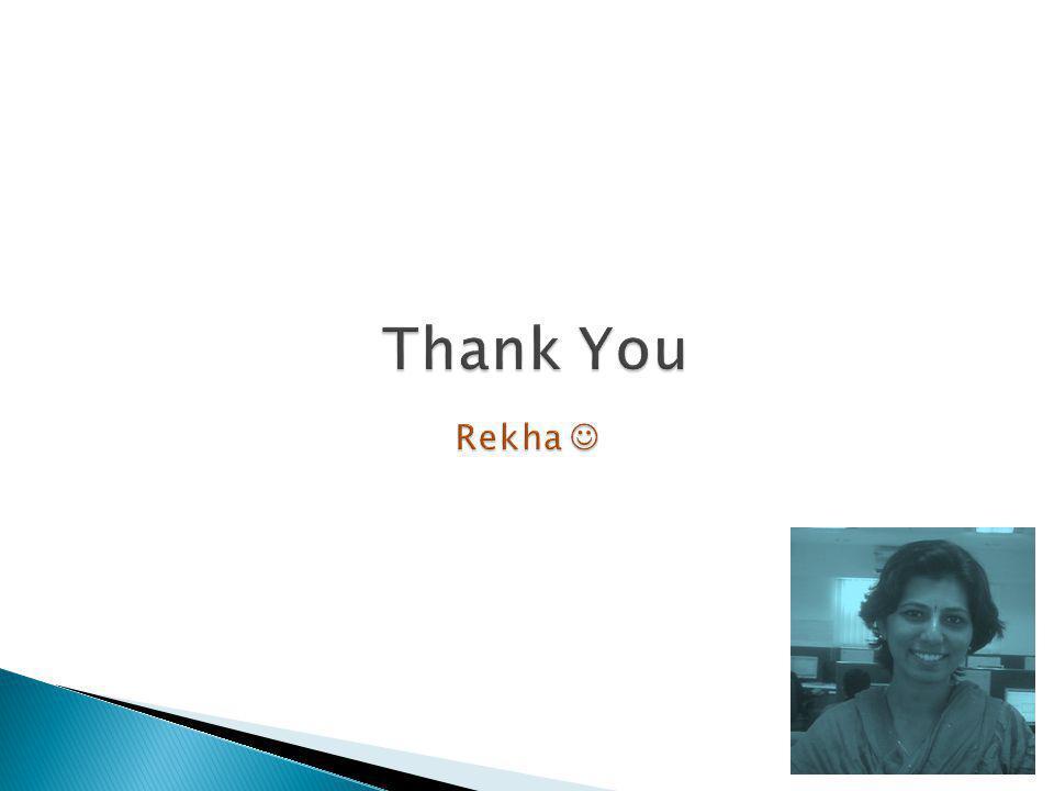 Thank You Rekha 