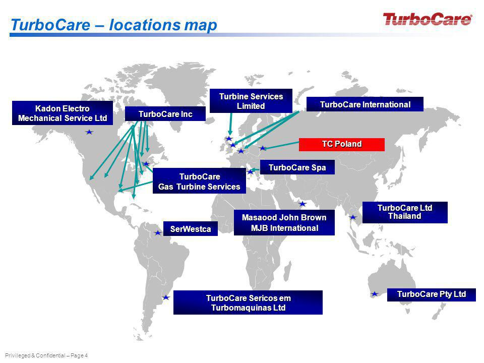 TurboCare – locations map
