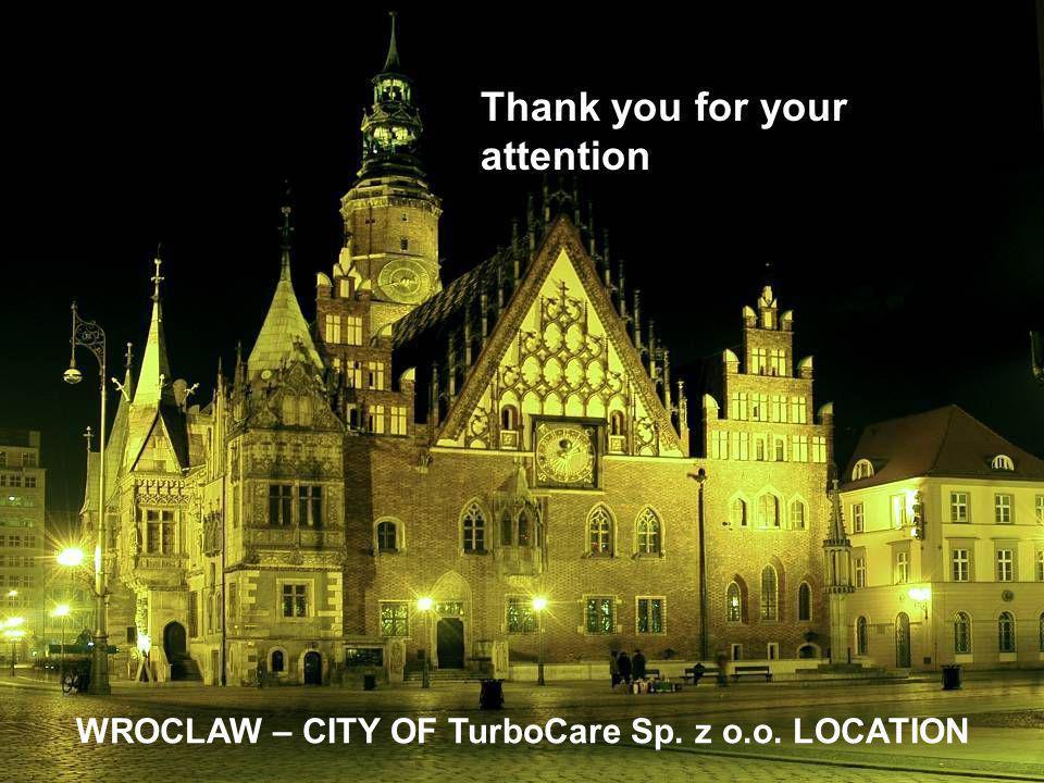 WROCLAW – CITY OF TurboCare Sp. z o.o. LOCATION