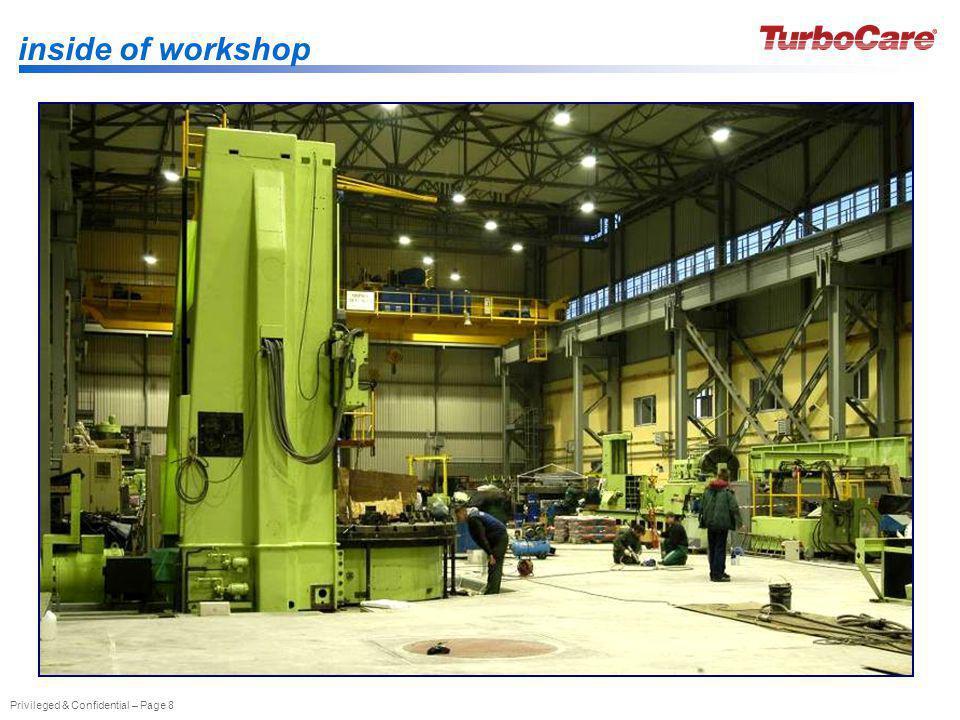 inside of workshop
