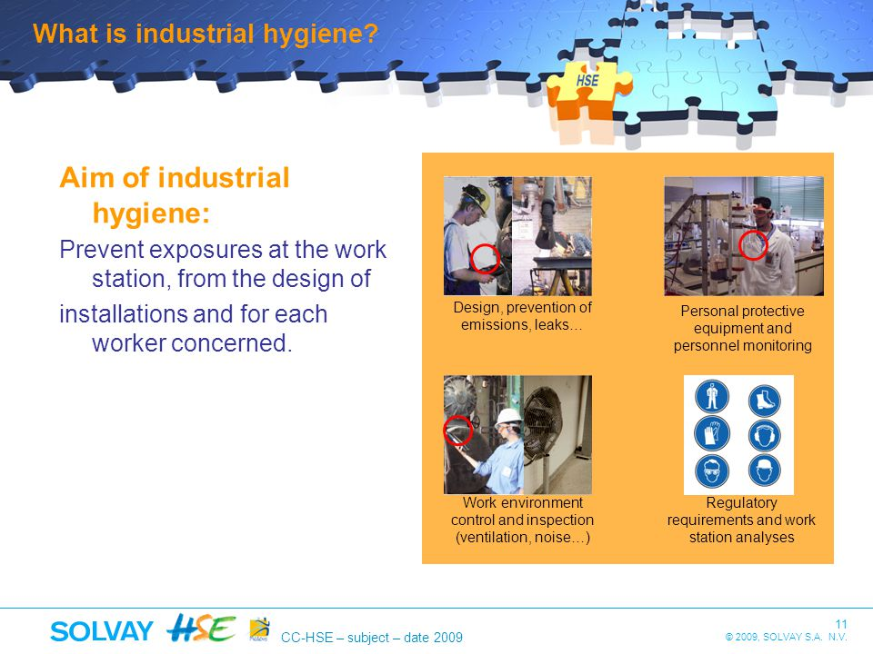 Aim of industrial hygiene: