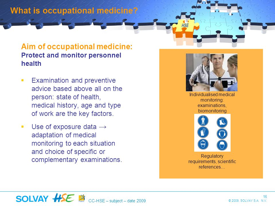 What is occupational medicine