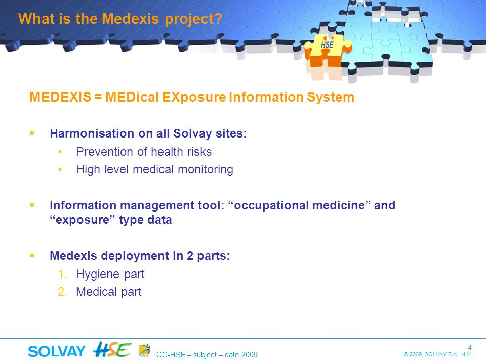 What is the Medexis project